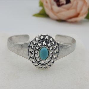 Lucky Brand Western Turquoise Cuff Bracelet